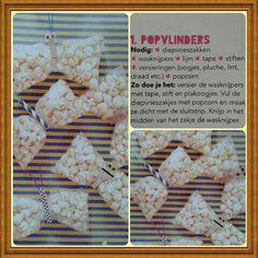 Traktatie popcorn Popvlinders