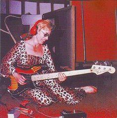 Carol Kaye Bass Guitar Session Player