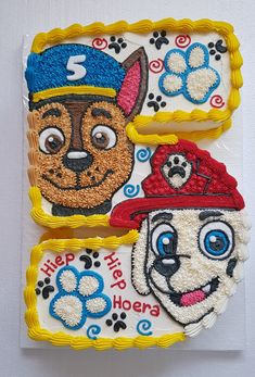 Chase and marshall paw patrol trendy birthday cake girls kids paw patrol ideas Paw Patrol Chase Cake, Paw Patrol Cupcakes, Paw Patrol Birthday Cake, Paw Patrol Party, Marshall Cake Paw Patrol, Funny Wedding Cake Toppers, Vintage Cake Toppers, Special Birthday Cakes, 5th Birthday