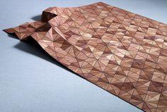 """Teppich """"Wooden Carpet"""" von Boewer"""