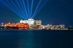Foto Der Woche – Das Emirates Palace Hotel bei Nacht in Abu Dhabi #AbuDhabi #VAE #EmiratesPalaceHotel #HotelAbuDhabi