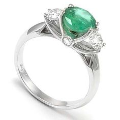 unique engagement ring...i love the idea of a different stone instead of the classic diamond