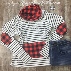 Buffalo plaid funnel neck - March 23 2019 at Plus Size Womens Clothing, Plus Size Fashion, Clothes For Women, Plus Size Fall Outfit, Plus Size Outfits, Plaid Outfits, Fall Outfits, Plaid Fashion, Womens Fashion