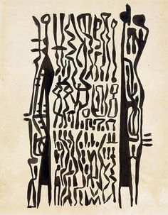 Theo Schoon Watercolor, Ink, Sculpture, Black And White, Colors, Artwork, Inspiration, Black White, Biblical Inspiration