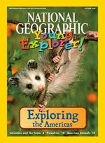 Lots of super cool online Young Geographic Young Explorer.  Early reader & they read it to you if you need it.  For the girls!