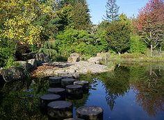 Jardin japonais de l'Île de Versailles (Nantes)