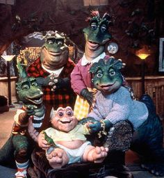 """Dinosaurs tv show.""""whats the name of that show.its kindddd of like a cartoon but not"""".""""you mean people dressed up in dinosaur costumes? 90s Childhood, My Childhood Memories, Baby Memories, Dinosaur Photo, Cinema Tv, Fraggle Rock, Back In My Day, Kino Film, 90s Nostalgia"""