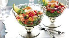 Salată de creveti si avocado - La Cucina