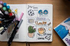 Bullet Journal - my memories page