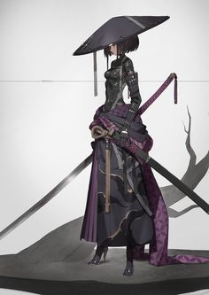 Anime, manga, and video game fan-art artworks from Pixiv (ピクシブ) — a Japanese online community for artists. pixiv - It's fun drawing! Fantasy Character Design, Character Design Inspiration, Character Concept, Character Art, Fantasy Characters, Female Characters, Anime Characters, Anime Krieger, Akali League Of Legends