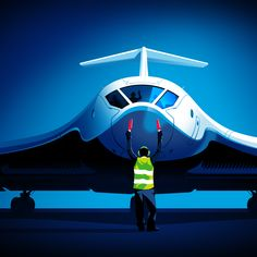 Illustraion for a financial report that outlines zero emission aviation and the positive impact it could have on the world Outlines, My Works, Fighter Jets, Aviation, Zero, Aircraft, World, Planes, The World