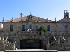 Pazo de Ulloa, en Cambados, Pontevedra,