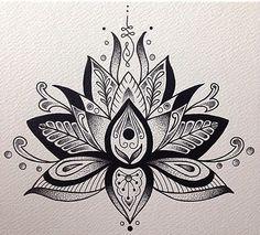 Image result for lotus flower buddhist tattoo
