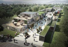 롯데면세점이 18일 성동구·문화예술사회공헌네트워크(ARCON)와 함께 서울숲 진입로에 창조적 문화공간 '언더스탠드에비뉴'를 공식오픈하며 '상생비전 2020'의 첫발을 내디뎠다...