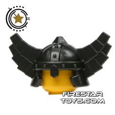 LEGO - Viking Helmet  - Pearl Dark Gray