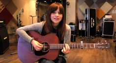 Gabrielle Aplin- re-watching all her old youtube videos :)