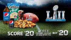 Buy $20 & Score $20 in Pepsico FREE Product Coupons on http://www.canadafreebies.ca/