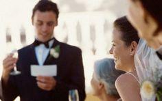 Ideas para el discurso en una boda