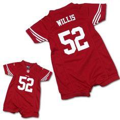 Patrick Willis 49ers Infant Romper Jersey 0341349bb