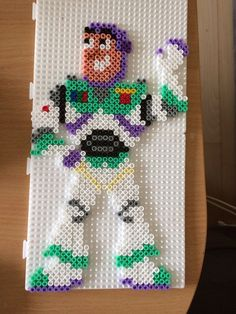 Buzz Lightyear Toy Story hama beads by Camilla Merstrand