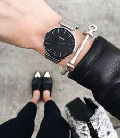 Top 5 Black and Silver Watches