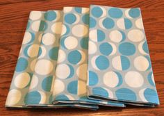 Dinner Napkins Blue and White Circular Pattern Eco Modern Napkins, Cloth Dinner Napkins, Circular Pattern, Bridal Shower Favors, Classic House, Hostess Gifts, Clothing Patterns, House Warming, Birthday Gifts