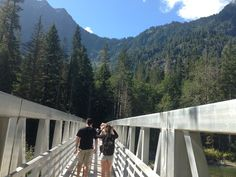Trail to the Big Four Ice Caves-Washington State  #travel