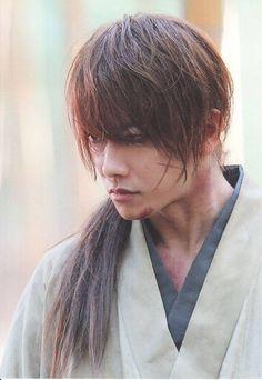 Satoh Takeru as Himura Kenshin   Rurouni Kenshin live action