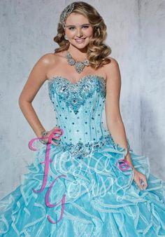 2014 Tiffany Fiesta 56254 Corset Top Dress
