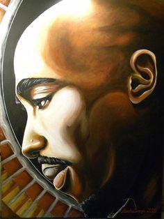 2Pac Art Portrait