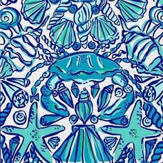 Beachy Lilly Pulitzer print Lilly Pulitzer Patterns, Lilly Pulitzer Fabric, Delta Gamma, Kappa, Alpha Chi, Theta, Coolers, Lilly Pultizer, Cooler Painting