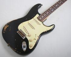 Fender Electric Guitar, Black Electric Guitar, Stratocaster Guitar, Fender Guitars, Fender Vintage, Fender Custom Shop, Epiphone, Cool Guitar, Gilbert Beilschmidt