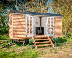 Blackdown Shepherds Hut | The Relaxed Home