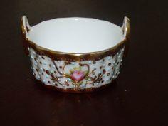 Antique Nippon Porcelain Basket  Stunning Dainty by ChicAvantGarde