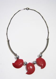 Lovely Red Jakob Bengel Necklace