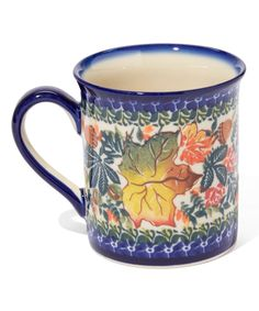 Look at this #zulilyfind! Mirch Mug by Lidia's Polish Pottery #zulilyfinds