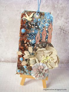 Mixedmedia tag, 13 arts inspiration modboard
