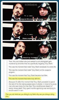 LikeaLaugh - The moment Tony Stark became Iron Man