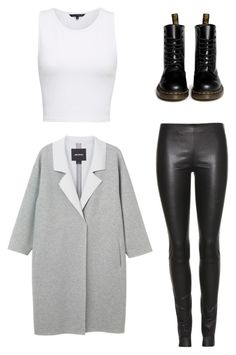 Untitled #17 by xilasia on Polyvore featuring polyvore, мода, style, French Connection, Monki, The Row and Dr. Martens