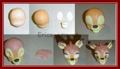 How to make a fondant Bambi