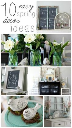 10 Spring Decor Ideas to Kick the Winter Blahs! - House by Hoff