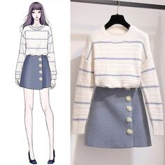 Form specialists present right up five refreshing new methods to put on a hoodie without ever having resembling an angst-ridden. Cute Fashion, Look Fashion, Girl Fashion, Pretty Outfits, Stylish Outfits, Cute Outfits, Girls Fashion Clothes, Fashion Dresses, Dress Sketches