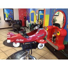 Kids Carousel Cuts, Vacaville, CA - great idea for a kids salon!