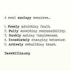 Here is a huge collection of forgiveness quotes that are about forgiveness. Remember it and look up for some of these wise words if you find yourself in a s Apology Quotes For Him, Live Quotes For Him, Forgiveness Quotes, Forgive Quotes, Nice Quotes, Badass Quotes, Saying Sorry Quotes, Trauma, Responsibility Quotes