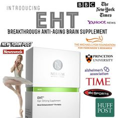 Contact me for more info - this supplement will make history for giving you a healthy brain! judy274.nerium.com