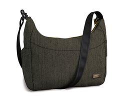 A classy herringbone Citysafe 200 GII handbag... keeping it classy while traveling #PacsafeHolidays