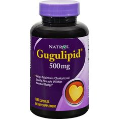 Natrol Gugulipid - 500 Mg - 100 Capsules