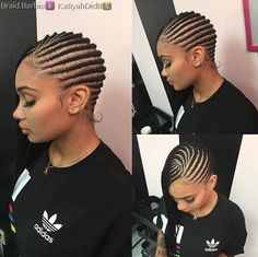 Dope braids via @braid.barbie Read the article here - http://www.blackhairinformation.com/hairstyle-gallery/dope-braids-via-braid-barbie/