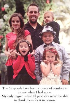 I LOVE the Shaytards! I'm so sad this is their last year of doing daily vlogs... :(