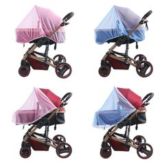 Holidy Baby Stroller Pushchair Mosquito Insect Shield Net Stroller Accessories Mosquito Net YL128